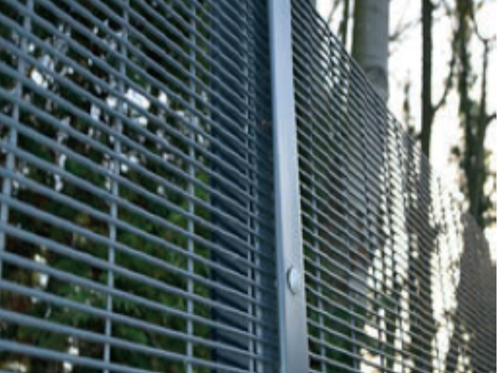 358 flat mesh security fencing system