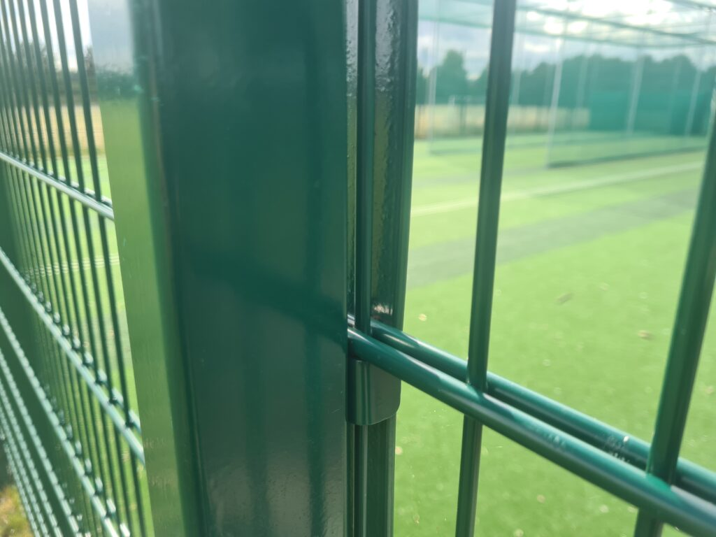 Twin wire security gate mesh